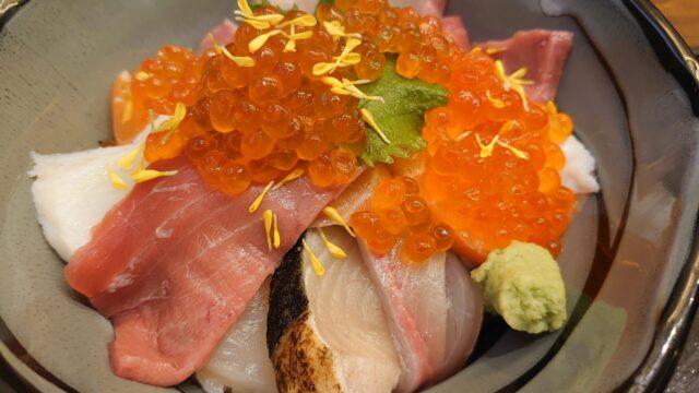 魚源 西舞鶴店 海鮮丼(並)