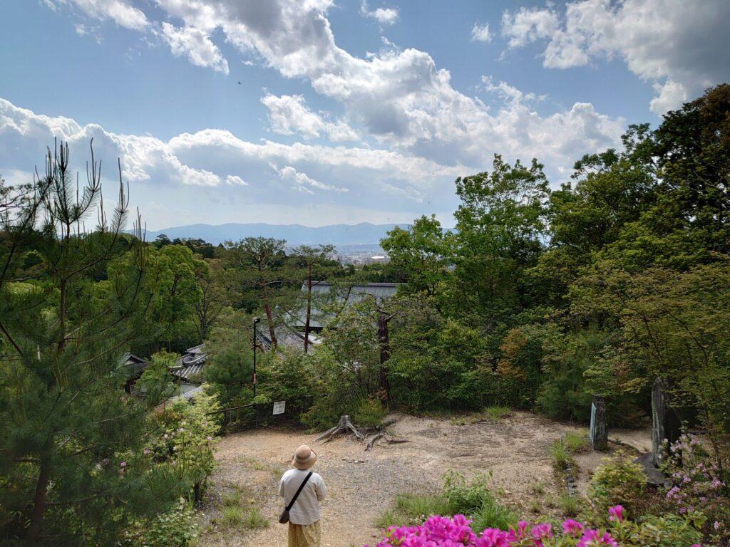 今熊野観音寺 医聖堂からの景色